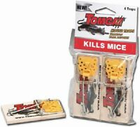 Tomcat, 16 Pack Deluxe Wooden Mouse Trap