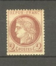 """FRANCE STAMP TIMBRE N° 51a """" CERES 2c BRUN-ROUGE FONCE """" NEUF xx TB"""