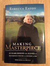 Making Masterpiece Masterpiece Theatre - SIGNED Rebecca Eaton Downtown Abby +Pic