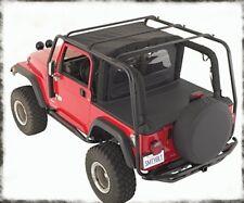 Smittybilt SRC Roof Rack 2004-2006 Jeep Wrangler LJ Unlimited 76715 Black