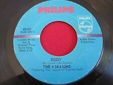NORTHERN SOUL 45 - THE 4 SEASONS - BEGGIN / DODY - PHILIPS 40433
