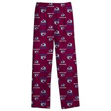 ($28) Colorado Avalanche nhl Jersey Pajamas Lounge Pants YOUTH KIDS BOYS s