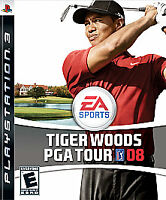 TIGER WOODS PGA TOUR 08 - PlayStation 3 - PS3 - Disc Only - Tested