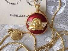 Edgar Berebi Limited Edition Faberge Raphael's Angels Locket Necklace Pendant