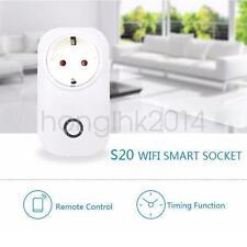 Itead Sonoff S20 WiFi Smart Socket mit ESP8266 MQTT Zeitschaltuhr