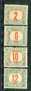 ROMANIA HUNGARY -1919 SC # 11N J1-J4,-MLH.