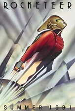 THE ROCKETEER Movie POSTER 27x40 Billy Campbell Jennifer Connelly Alan Arkin