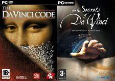 The Da Vinci Code &The Secrets of Da Vinci The Forbidden Manuscript   new&sealed