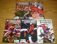 Spider-Man/Dr. Octopus: Negative Exposure #1-5 VF/NM complete BRIAN K. VAUGHAN