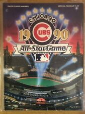 1990 MLB All-Star Game Program, Chicago Cubs