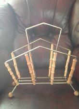 Bamboo magazine holder,stand , rack