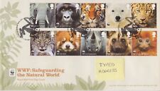 TALLENTS PMK GB ROYAL MAIL FDC 2011 WWF THE NATURAL WORLD STAMP SET
