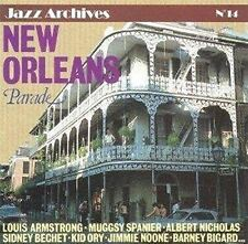 New Orleans Parade [CD] Louis Armstrong Kid Ory ...(1273) neuf
