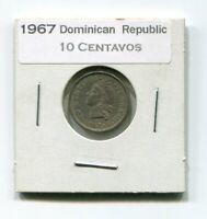 Details about  /1967 Dominican Republic 10 Centavos