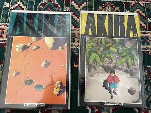 Akira #33 & 35 Epic Comics Marvel 1995 Katsuhiro Otomo Kaneda Tetsuo Low Print
