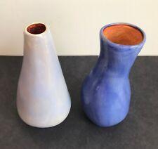 New ListingAletha Soule Studio Vases Pair California Pottery Vintage Freeform Organic Shape