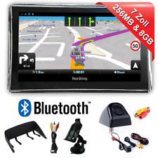 7 Zoll Navigationsgerät Navi Navigation Bluetooth für LKW PKW mit Rückfahrkamera
