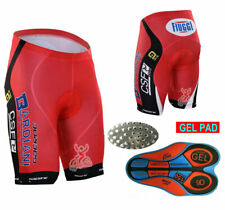 XSU051 Road Men Team Bicycle Cycling Polyester GEL Padded Shorts