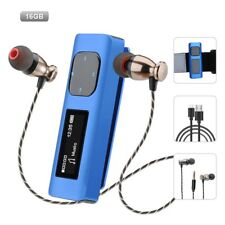 Aniee MP3 Player 16GB Lossless Sound Portable Music Player with FM Radio, Voice