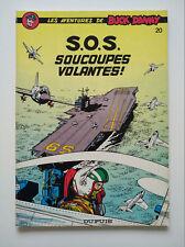 RE brochée 1980 (très bel état) - Buck Danny 20 (S.O.S. soucoupes volantes !)
