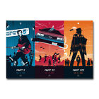 Back to the Future Trilogy Classic Movie Poster Wall Art Print 12x18 24x36 inch