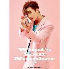 SUPER JUNIOR-M ZHOUMI - [WHAT'S YOUR NUMBER?] 2nd Mini Album CD+Photo Book K-POP