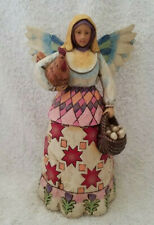 "Jim Shore Heartwood Creek ""Angel of Faithfulness"" Figurine #C108918 2002 Retired"