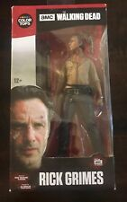 Rick Grimes Walking Dead Figure #1 Color Tops NIB McFarlane Toys