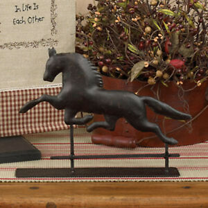 Weathervane Weather Vane Horse Metal Horse Statue FARMHOUSE COUNTRY RANCH Decor