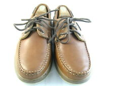 "Allen Edmonds ""EASTPORT"" Boat Shoes 10.5 D  Brown   (54)"