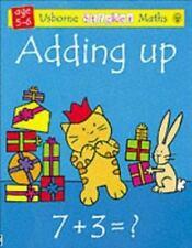 Usborne Sticker Math: Sticker Maths: Adding by Rachel Wells and Fiona Watt (2004