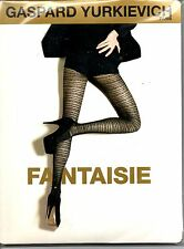 NEUF COLLANT GASPARD YURKIEVICH by GERBE FANTAISIE LE NOIR / OR TAILLE 1 TIGHTS