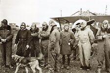 WW1 - Aviateurs américains de l'escadrille N124, future Escadrille La Fayette