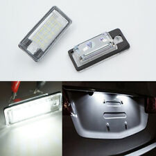 2x LED License Plate Light White No Error For Audi A3 8P A4 S4 B6 B7 A6 C6 A8 Q7