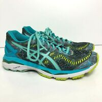 Asics Gel Kayano 23 Women's Size 6.5 Athletic Running Shoes Gray/Blue T6A5N