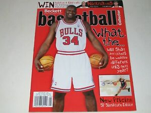 BECKETT Basketball Monthly Magazine SHAQ O'NEAL MAY 2004  Issue