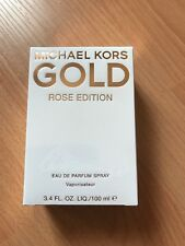 Michael Kors GOLD Rose Edition. 3.4 Fl Parfum Perfume RARE-VALENTINE PERFECT!!