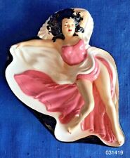 Vintage Mid Century Modern HOLLAND Mold Pin Up SEXY LADY Cigar Pipe