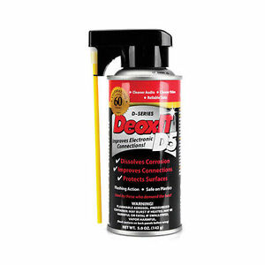 DeoxIT CAIG D5 Electrical Contact Cleaner, Improves Electronic Connections