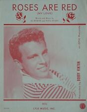 Bobby Vinton Sheet Music, 1962 - Roses Are Red