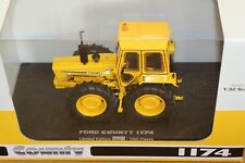 UH6212 1:32 Ford County 1174 Industrial Yellow Tractor
