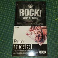 The Rock Album Pure Metal CD Box Sets 7 Discs in total Alice Cooper Motorhead