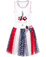 Bonnie Jean Toddler Girls Unicorn Star-Print Tutu Dress, Size 2T