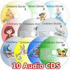 100 Children Stories on 10 CD SET Classic Childrens Kids Fairy Story Audio books