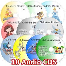 100 Children Stories on 10 CD s Childrens Kids Fairy Story Audio book Bedtime 2