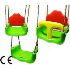 3in1 SAFETY SWING for kids ROPE outdoor garden door seat GROWING WITH CHILD