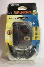 Sony Walkman WM-EX162 Portable Cassette Tape Player Headphones NIP NOS Sealed