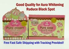Jelly PURE Cream-Soap Whitening Skin Best Glutathione Beauty Aura FREE Ship