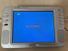 Mobiler LCD TV mit DVB-T und Analog Empfang