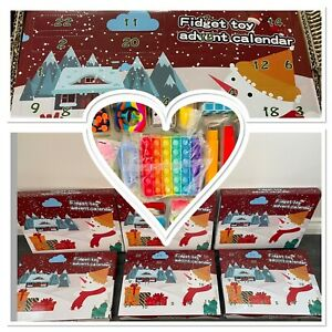 Fidget Toy Advent Calendar 24 Day Countdown Christmas Calendar 24 Fidget Toys